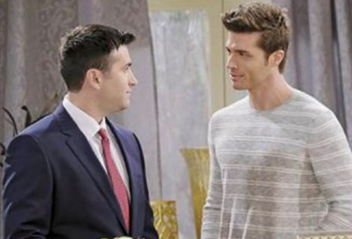 Days Of Our Lives Spoilers Freddie Smith Talks Sonny Evan Kiss Is It Love Or Just A Fill In For Will Horton Celebrating The Soaps