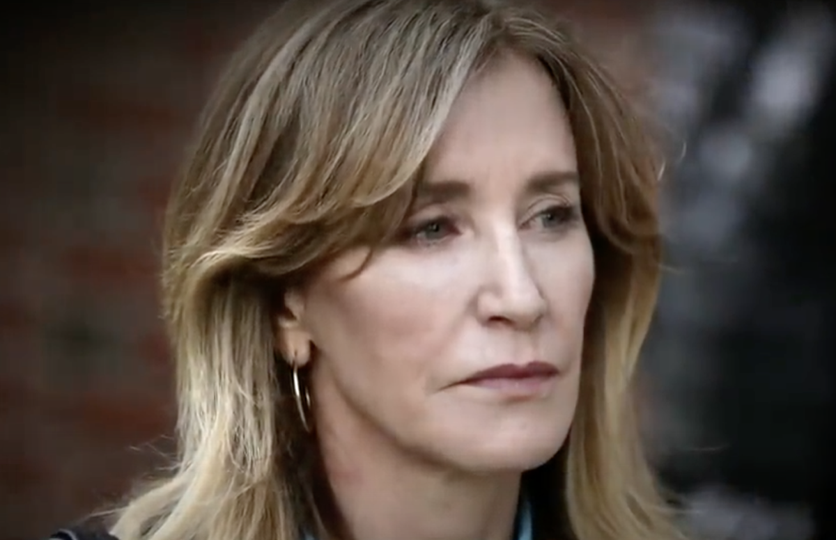 Feds Want Felicity Huffman To Do 1 Month For College
