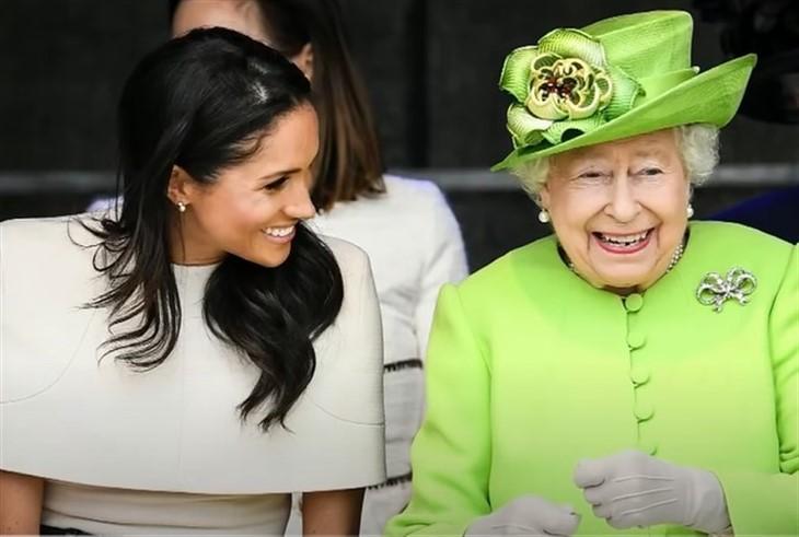 Meghan Markle, The Queen