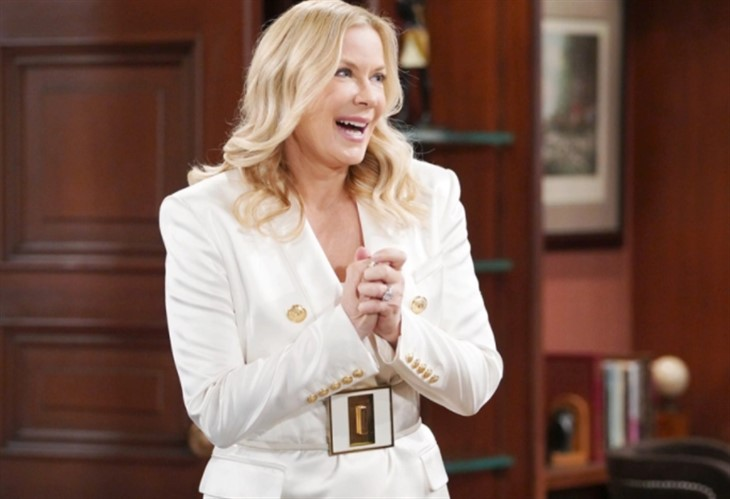 The Bold And The Beautiful: Brooke Logan Forrester (Katherine Kelly Lang)